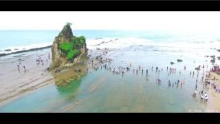 getlinkyoutube.com-Pesona Pantai Sawarna dipagi hari (Asli Kereeeen Banget ini Pantai) | DJI Phantom 3 Pro