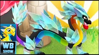 getlinkyoutube.com-Dragon City: Drainbow DRAGON! DC Games Island Gameplay Part 24