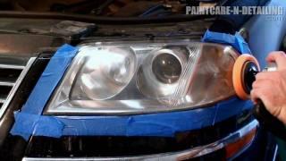 getlinkyoutube.com-Headlight Restoration - Wetsanding and Polishing HD