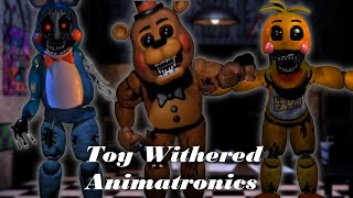 getlinkyoutube.com-[FNAF | Speed Edit] Making Withered Toy Animatronics
