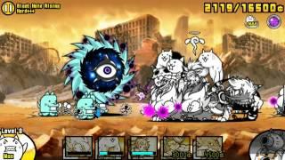 getlinkyoutube.com-The Battle Cats - Black Hole Rising Hard+++