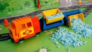 getlinkyoutube.com-Мультики про машинки и паровозики. Безответственность на железной дороге. Развивающий мультфильм.