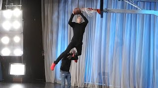 getlinkyoutube.com-NBA Star Aaron Gordon Is a Slam Dunk