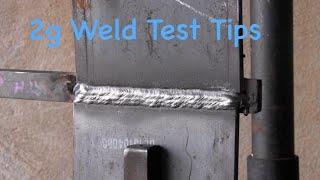 getlinkyoutube.com-Stick Welding Tips- 7018 2g Plate Test
