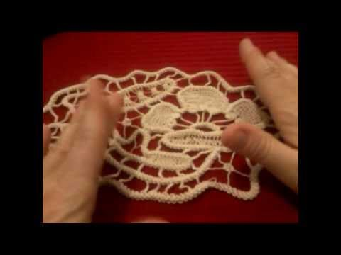 Cordoncino uncinetto macramè rumeno | Romanian point lace cord tutorial