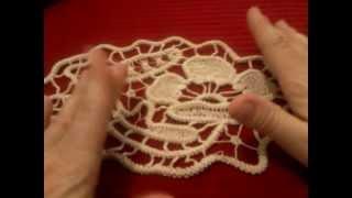 getlinkyoutube.com-Cordoncino uncinetto macramè rumeno | Romanian point lace cord tutorial