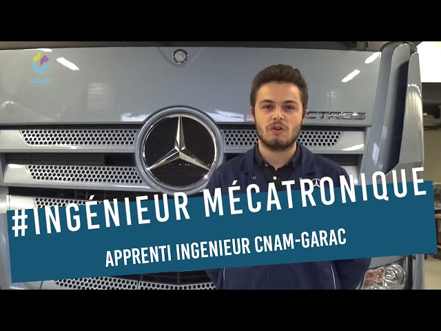 Clément apprenti ingenieur CNAM-GARAC