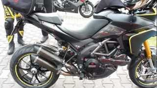 getlinkyoutube.com-Ducati Multistrada 1200 S ''Full Carbon'' 150 Hp 2011