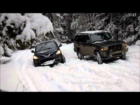 Покатушка Hover h5 и Mitsubishi Pajero