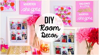 getlinkyoutube.com-DIY Room Decor 2015 ♡ 3 Easy & Simple Wall Art Ideas!