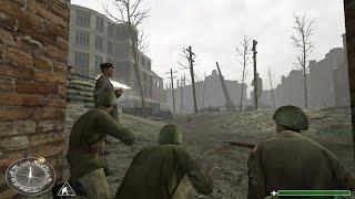 getlinkyoutube.com-Stalingrad Battle - Soviet Control Retake Of The Red Square - Call of Duty 1 Gameplay HD