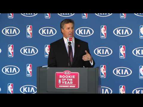 Kia Rookie of the Year Neil Olshey