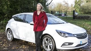 getlinkyoutube.com-Opel/Vauxhall Astra review by Geraldine Herbert