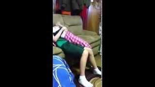 getlinkyoutube.com-My blind friend fighting with his sister