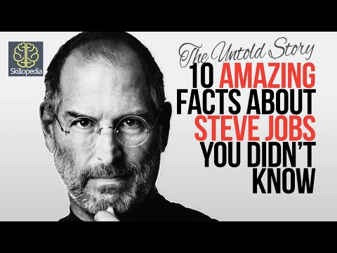 10 Amazing facts about Steve Jobs you didn't know - Skillopedia - The Untold Story