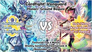 getlinkyoutube.com-Genesis (Fenrir) vs Angel Feather (Gavrail) - Featured Top 4 Match - Cardfight! Vanguard Baguio PH