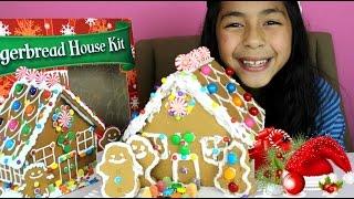 getlinkyoutube.com-Christmas Gingerbread House| Christmas 2014|B2cutecupcakes