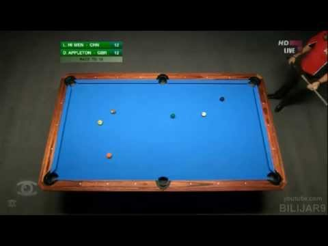 Part 2 - Guinness World Speed Pool Championship 2012 - The Final, Karl Boyes vs Darren App