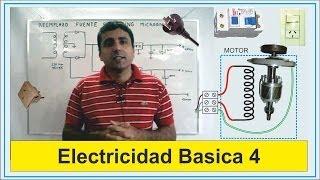 Electricidad Basica 4 (Descarga a tierra)      Basic Electricity 4 (Download grounded)