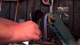 getlinkyoutube.com-1x30 belt sander knife grinder mods (Explained)