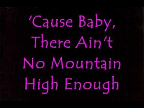Aint No Mountain High Enough de Temptations The Letra y Video
