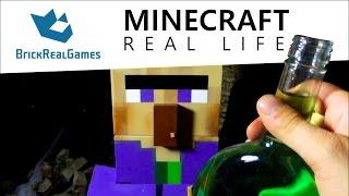 getlinkyoutube.com-Minecraft Real Life - Potion of Poison - BrickRealGames
