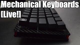 getlinkyoutube.com-Mechanical Keyboards Live! - Build a Carbon Fiber keyboard the LJD61up