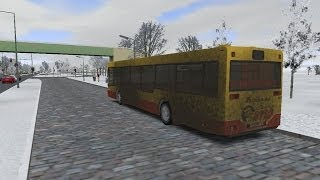 getlinkyoutube.com-Omsi 2 Berlin Spandau route 137 Man NL202 Dublin Bus City Imp