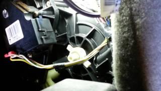 Chevy Blend Door Actuator Replacement - Part 2