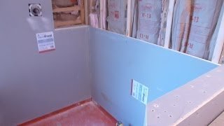 "getlinkyoutube.com-How to install shower surround tile backer board, durock or cement board -   PART ""1"""