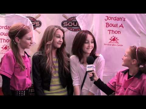 Noah Cyrus and Kelly Crook Interview at Jordan Van Vranken's Annual Bowl-A-Thon