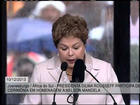 Mandela: Presidenta Dilma presta homenagem durante cerimônia fúnebre