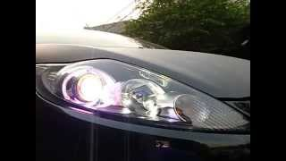 getlinkyoutube.com-GE HID Burner - Projector + Angel Eye [Plug & Play] on Ford Fiesta OEM Headlamp