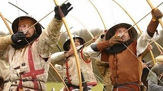 getlinkyoutube.com-MIDIEVAL WEAPONS AND COMBAT - The Longbow (MIDDLE AGES BATTLE HISTORY DOCUMENTARY)