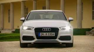 getlinkyoutube.com-2015 Audi A3 Sedan - Glacier White