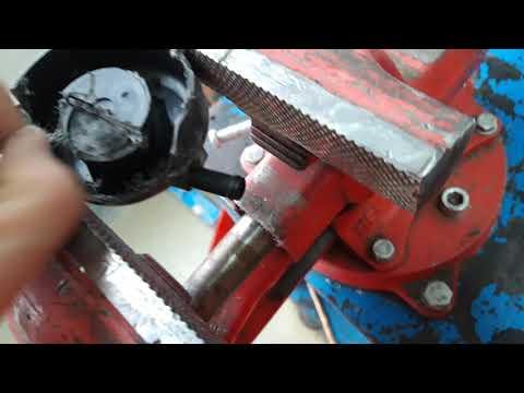 Разборка фильтра на входе в компрессор пневмоподвески прадо/prado 120