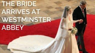 getlinkyoutube.com-Catherine Middleton walks down the aisle