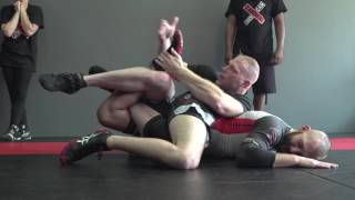 getlinkyoutube.com-Catch Wrestling: Cross Body Ride/Ball & Chain combo Sub Chain: Snake Pit U.S.A.