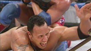 getlinkyoutube.com-The Rock, Undertaker & Kane vs. Edge, Christian & Kurt Angle: SmackDown, February 22, 2001
