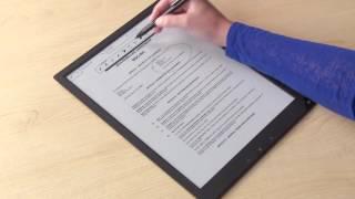 getlinkyoutube.com-Sony Digital Paper  -  Reinventing Paper Workflow™