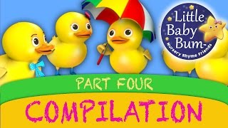 getlinkyoutube.com-Five Little Ducks And More Nursery Rhyme Videos from LittleBabyBum!