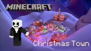 getlinkyoutube.com-Mineimator Christmas Town Animation - What's this?