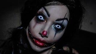 getlinkyoutube.com-Creepy Clown Tutorial!
