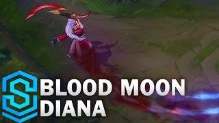 #造型 血月系列 黛安娜