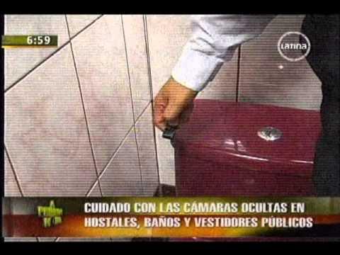 Las C    Maras Ocultas En Hostales  Ba    Os Y Vestidores P    Blicos