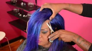 getlinkyoutube.com-How to do Illusion Edges Custom colored Bob by Ms.Willaworld