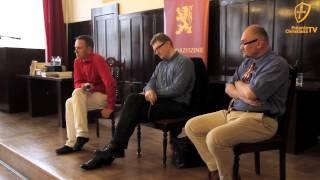 getlinkyoutube.com-Klub Polonia Christiana: Braun i Maciejewski Krakowie, Cz. 1