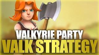 getlinkyoutube.com-All Valkyrie Strategies | Valkyries War Party Part 34 | Clash Of Clans