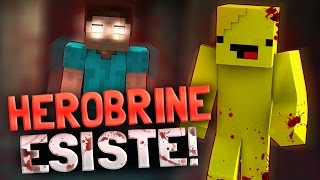 MINECRAFT HORROR # HEROBRINE ESISTE! [THE LIBRARIAN]