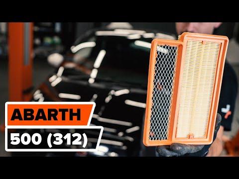 Как заменить воздушный фильтр на FIAT 500 ABARTH (312) (ВИДЕОУРОК AUTODOC)